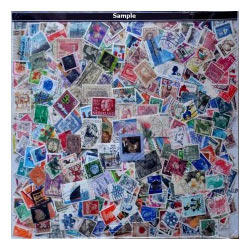 100 World Stamps