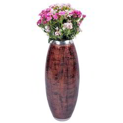 Polished Brass Flower Vase
