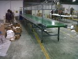 Industrial Assembly Line Conveyor System