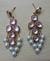 Designer Kundan Earring with Pearls