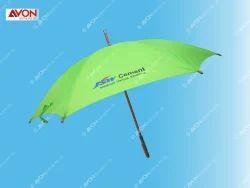 Green Wooden Umbrella