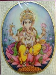 Ganesha Miniature Painting