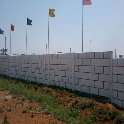 Rcc Lift In Wall : Rcc compound wall wholesale trader from bengaluru