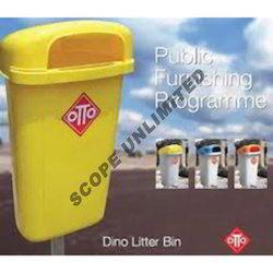 Plastic Litter Bins
