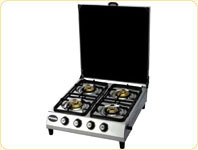 Four Burner LP Gas Stove MS Cover