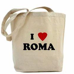 I Love Roma Canvas Bags