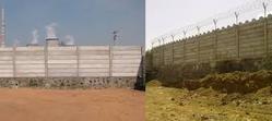 Pretressed Concrete Compound Wall