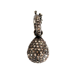 Pave Diamond Pendant Jewelry