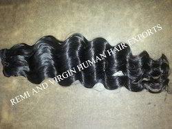 Remy Single Drawn Natural Wavy Human Hair