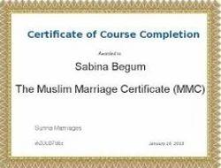 muslim marriage registration