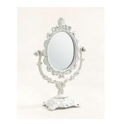 Beau Antique Table Mirror