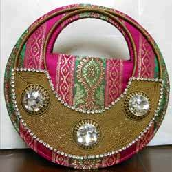 embroidered purse style