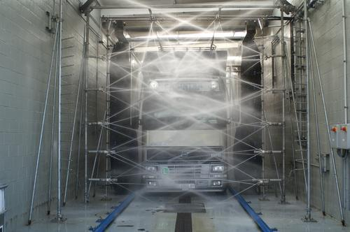 Tunnel Truck Wash System