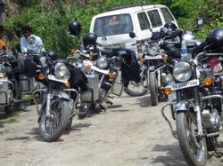Varanasi Package Tours of Royal Enfield Bullet Bikes