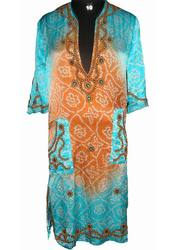 Stylish Long Kaftan Dress