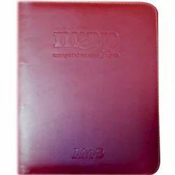 Leather File Folder