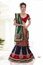 Bridal Wear Lehenga Heavy Stone Work Designer Sarees