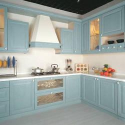 PVC Kitchen Cabinet in Ahmedabad, Gujarat | Polyvinyl Chloride ...