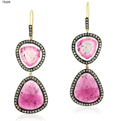 Designer Gemstones Earrings Jewelry