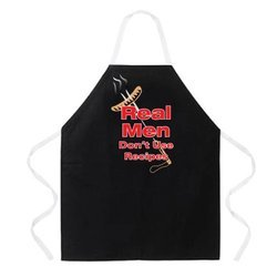 Aprons with White Straps