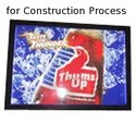 Signs & Stickers for Construction Process
