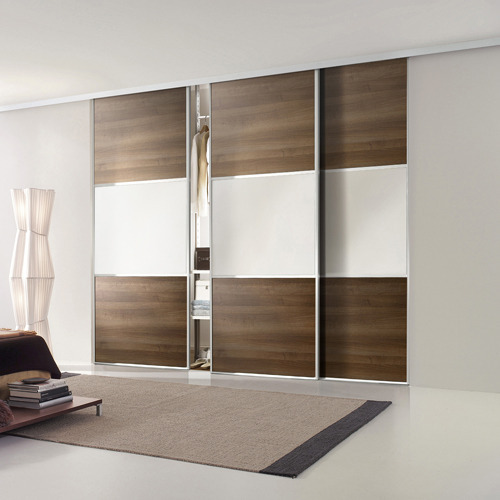 Glass Wardrobe Manufacturers Suppliers Traders