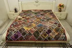 Exclusive Handmade Embroidered Quilt