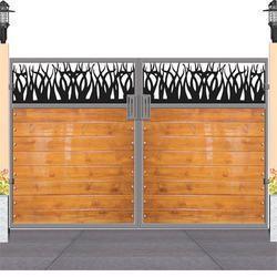 Wood Main Gate