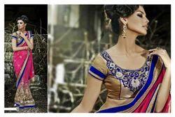 Embroidery Wedding Wear Saree