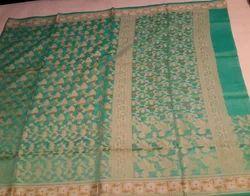 Banaras Net Cotton Saree