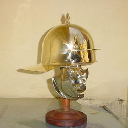 Brass Roman Gallic Helmet