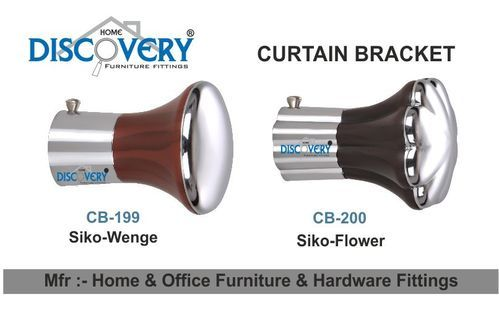 Curtain Bracket And Finials   Square Curtain Bracket Manufacturer From  Rajkot