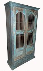 Wooden Repurpose Almirah