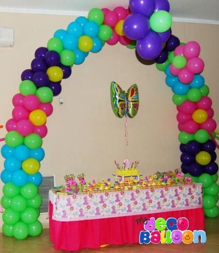 Balloon decoration pictures party favors ideas for Balloon decoration in coimbatore