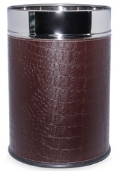 Leather Dustbin