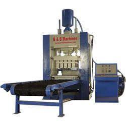 Rotary type Fly Ash Brick Making Machine