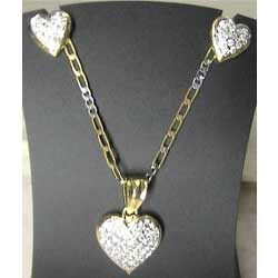 Locket+Diamond+Designer+Sets