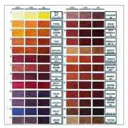 Direct Dyes Shade Card