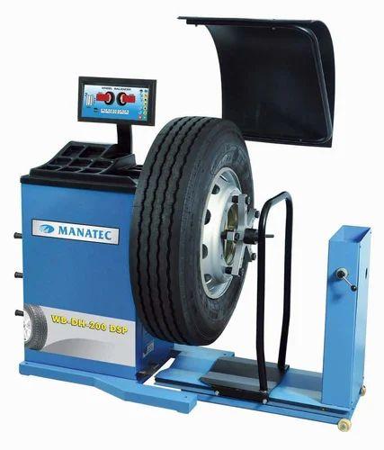 HCV Wheel Balancer (WB-DH-200 DSP)