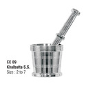 Mortar and Pestle Stainless Steel Imam Dasta