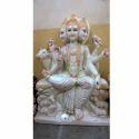 Exclusive Sheetala Mata In White Marble Statue