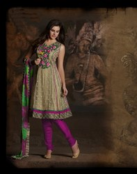 Beautiful Readymade Suit Anarkali Style