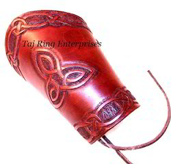 Colored Leather Arm Guard