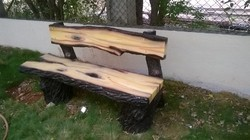 Wooden Design Garden - Waterproof Bench