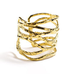 gold ring rings handmade silver plated en
