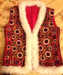 Gujrati Embroidered Vest Jacket