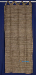 Raw Tussah Silk Curtain