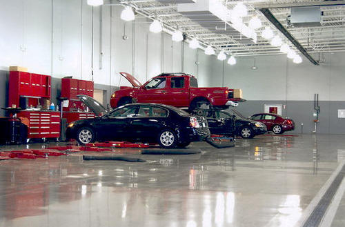 Automobile Workshop Flooring