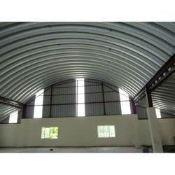 Curved Roofing System