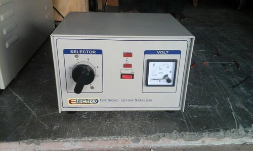 Electrical Equipments Manual Voltage Stabilizer